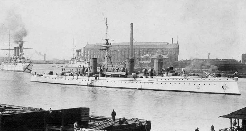 """Бронепалубная молния. Крейсер II ранга """"Новик"""". Бой 27 января 1904 г."""