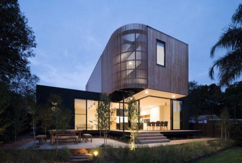 Модульное решение для увеличения размера дома,заполненного естественным светом