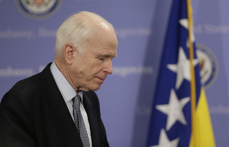 Россия ни при чем: У Маккейна диагностировали опухоль мозга