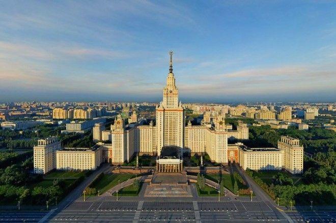 Семь сестёр домалегенды эпохи Сталина