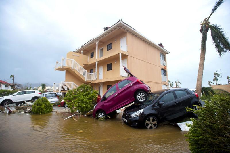 Шокирующие фотосвидетельства разрушительной мощи урагана Ирма