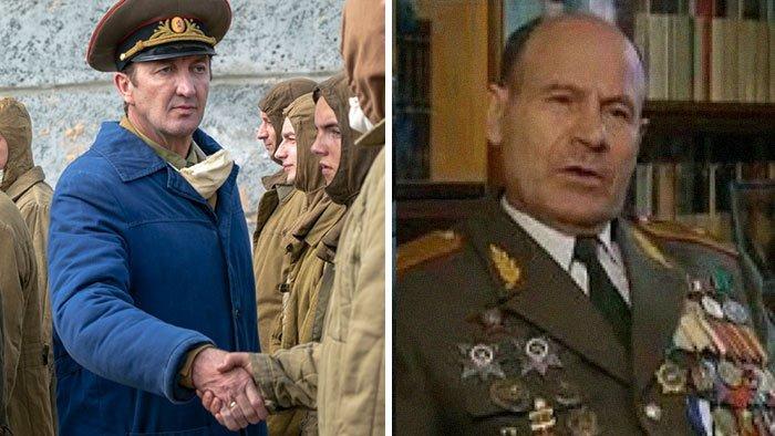 Ральф Инесон генерал Николай Тараканов, командующий Чернобыльскими ликвидаторами