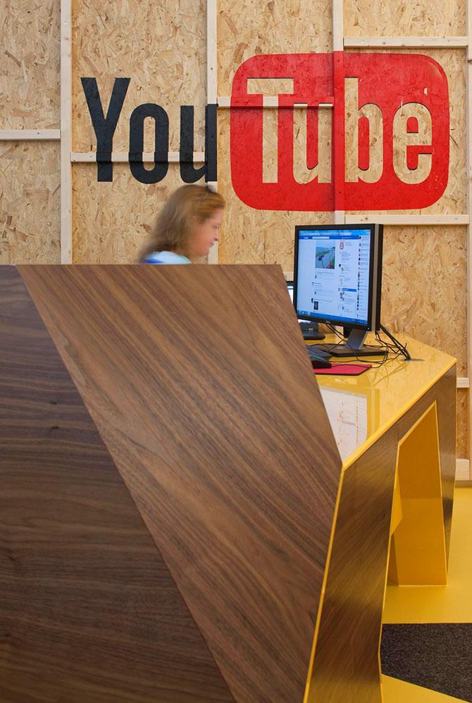 Студия для создателей видеороликов Youtube в Лондоне