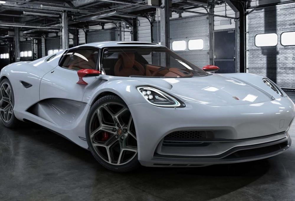 Суперкар Porsche от авторов моделей для «Матрицы» и «Трансформеров»