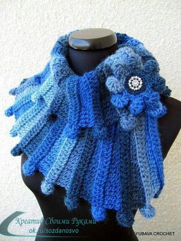Оригинальные шарфы - идеи для творчества