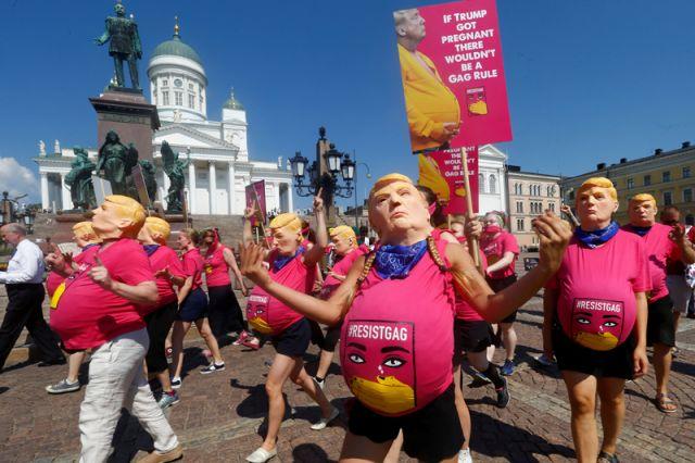 Хельсинки в преддверии встречи Путина и Трампа