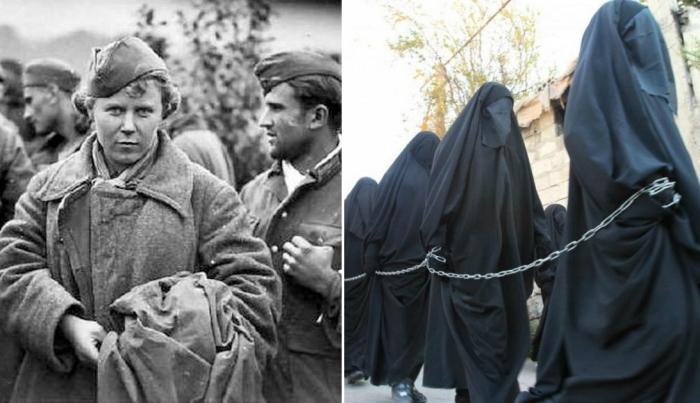 Женщины в плену: От нацистск…