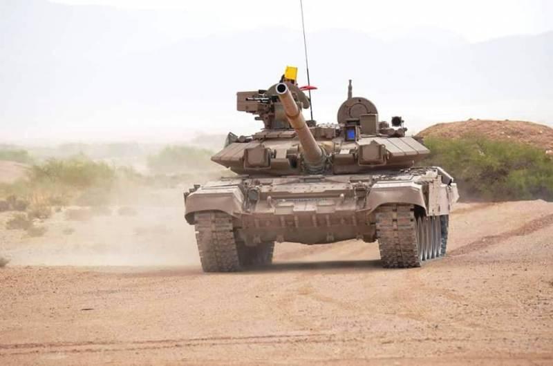 Обновленная алжирская версия Т-90С