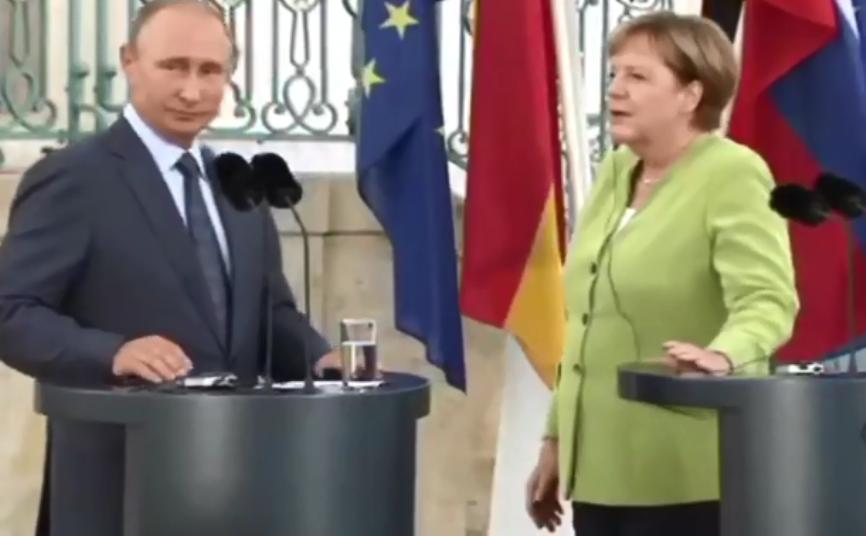 «Пошли!»: Меркель по-русски …