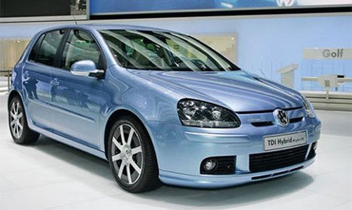 Volkswagen Golf назван дизельным автомобилем года