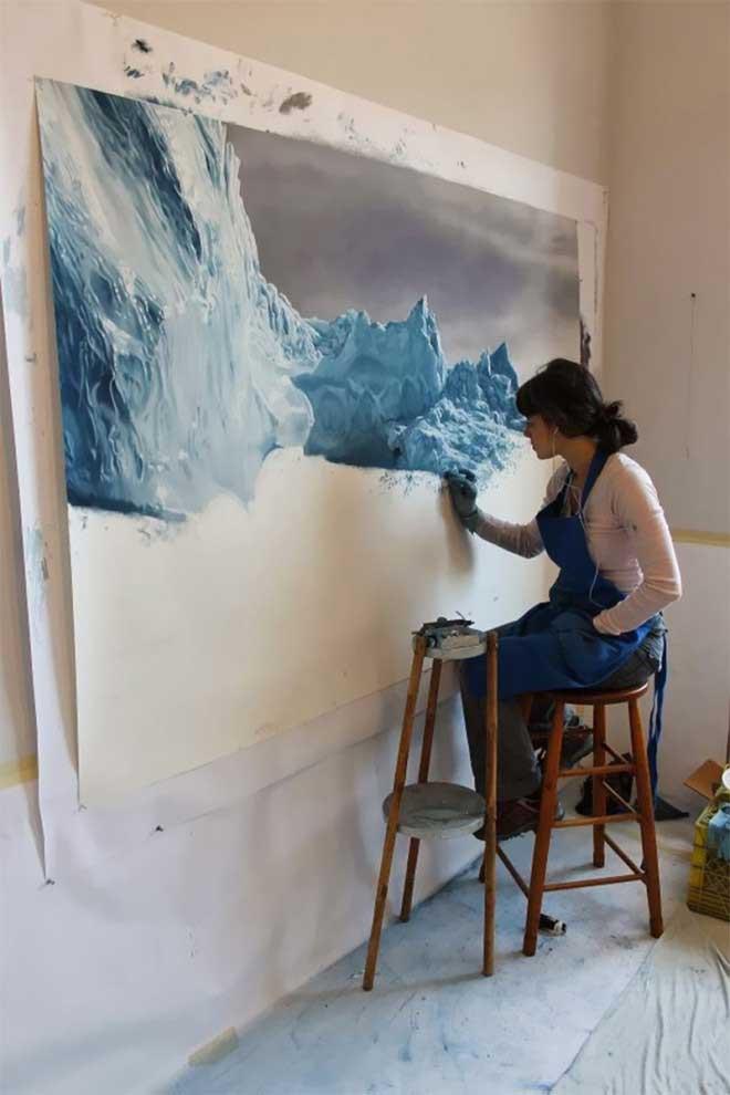 Зариа Форман - особенная художница.