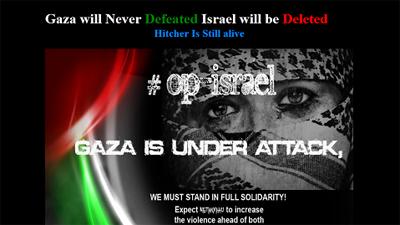 Хакерам из Anonymous не удалось «стереть» Израиль из Интернета