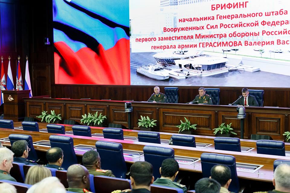 Российский Генеральный штаб заявил о полном освобождении Сирии от террористов ИГИЛ
