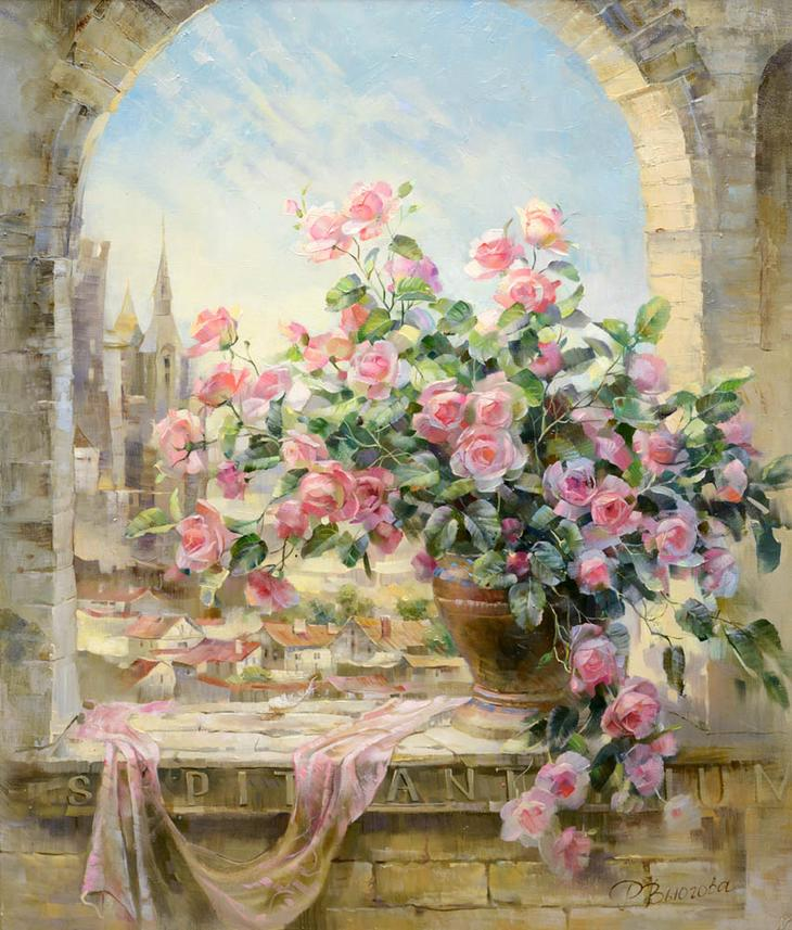Романтичные натюрморты Риммы…