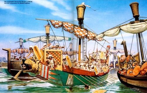 """Вторжение """"Народов Моря"""""""