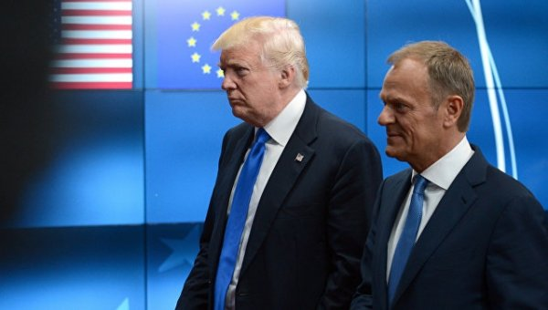Трамп разочаровал Евросоюз своим отношением к России