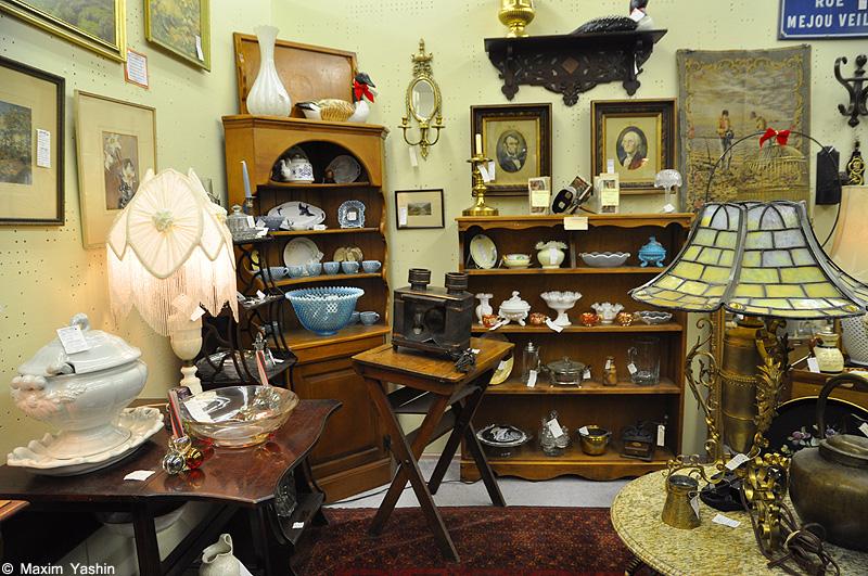 Antiques shops 11 Антикварные магазины в США