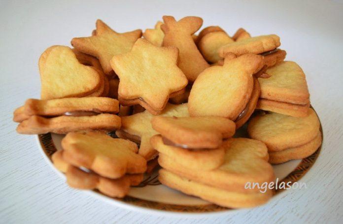 Нежное, рассыпчатое творожное печенье. Ооочень вкусное!