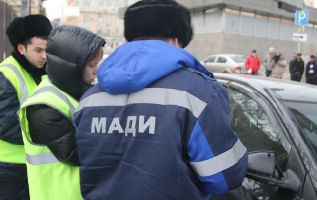 Москва начала облаву на нарушителей правил парковки