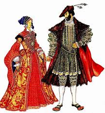 История моды. Костюм эпохи Возрождения. Англия