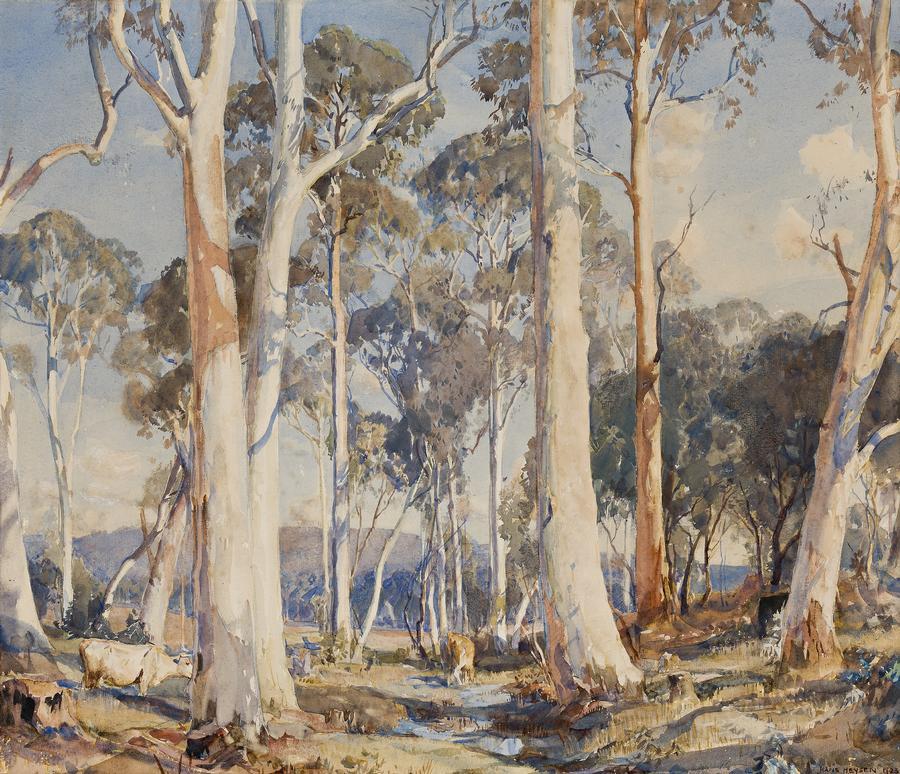 Австралийский художник Ханс Хейсен