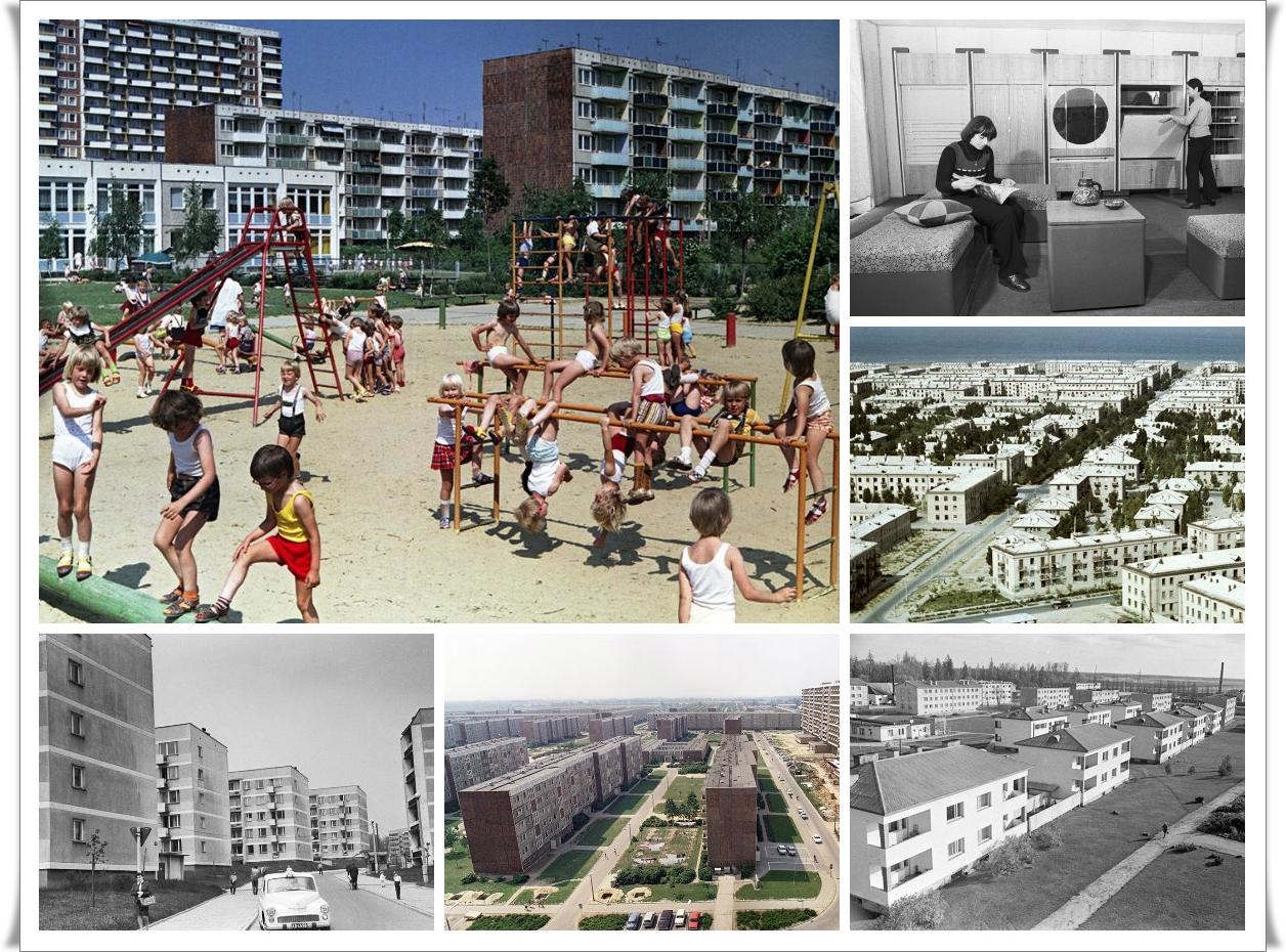 От ГДР до Еревана: как строили хрущевки в СССР и социалистических странах