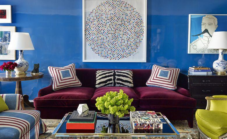 Блестяще! 8 роскошных примеров использования глянцевой краски