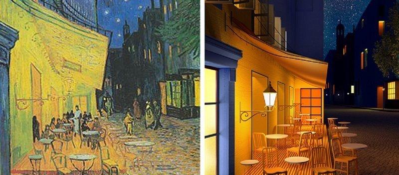 Художница переводит знаменитые картины в 3D
