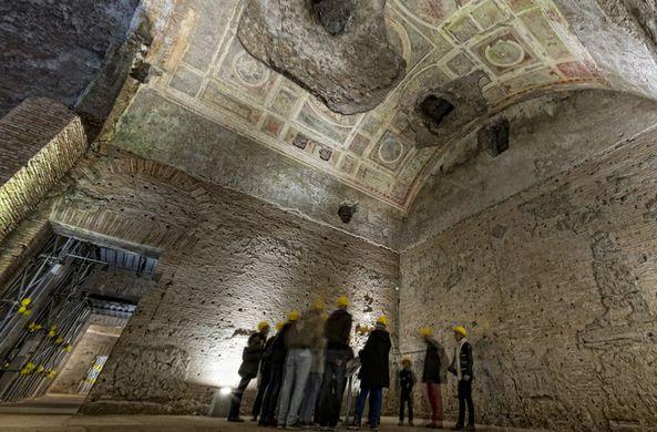 Первый дворец Нерона открыт для туристов