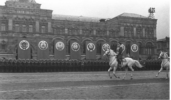 Интересные факты о Параде Победы 1945 года