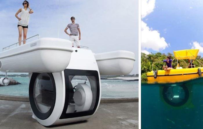 10 судов и плавсредств, которые «ломают» традиционные представления об этом виде транспорта