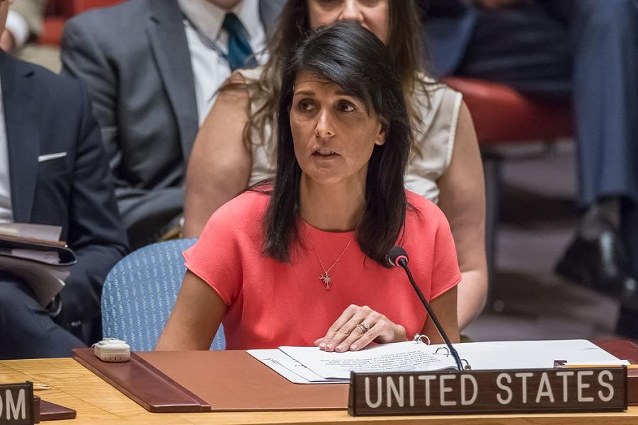"""""""Это военные действия (России)"""", - сказала представитель США при ООН Никки Хейли"""