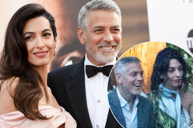 Джордж и Амаль Клуни впервые…