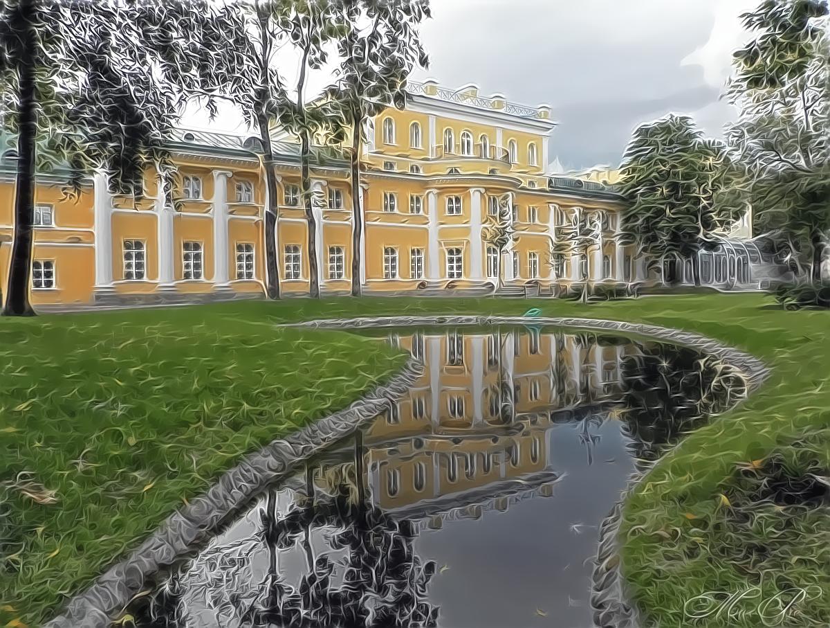Польский сад. Прогулка после реставрации.