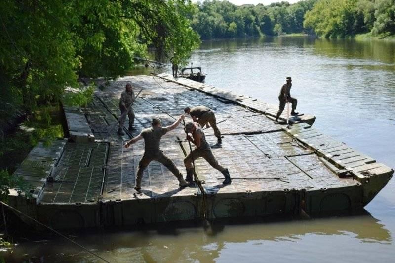 ВСУ установили понтонные переправы в Донбассе