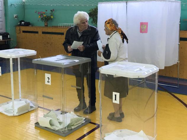 За Путина на выборах проголосовали более 56 млн человек