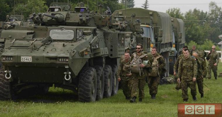 Канадский майор признался, что не знал, где находится Латвия