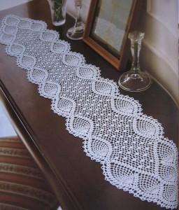 Схемы вязания крючком овальных ковриков крючком