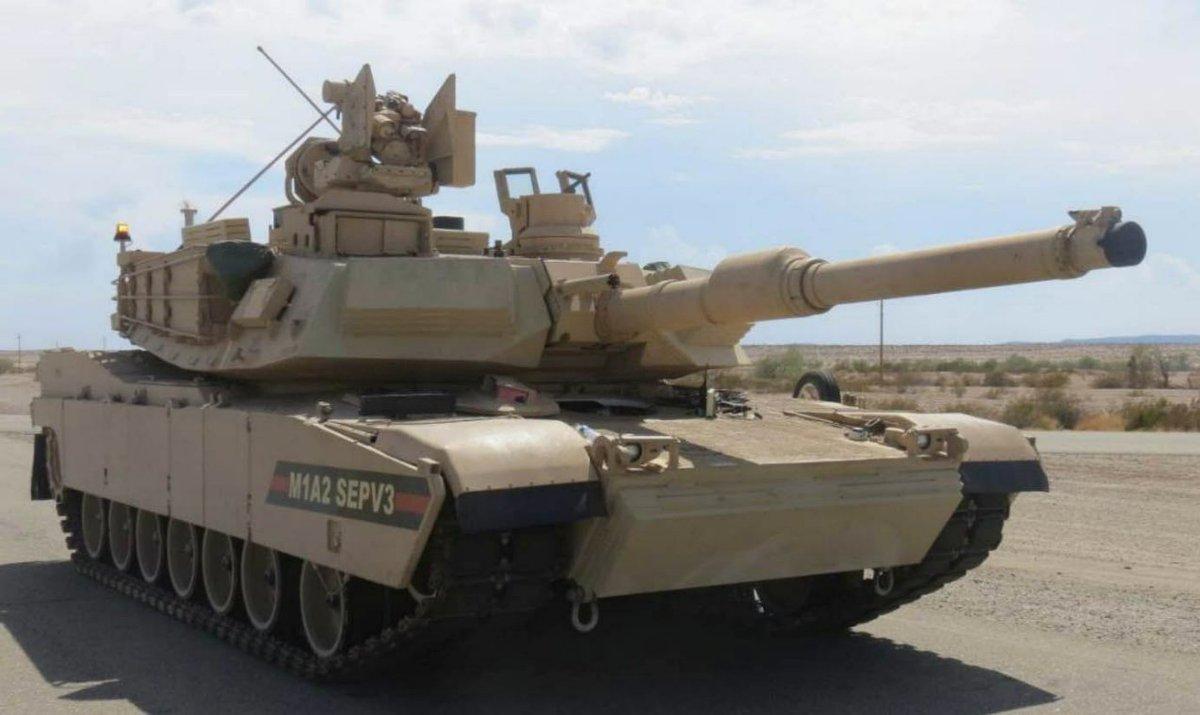 Контракт армии США на разработку проекта модернизации танка Abrams SEP v4