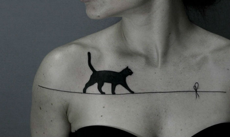 Вам самим такую захочется: очень крутые татуировки от белорусского мастера