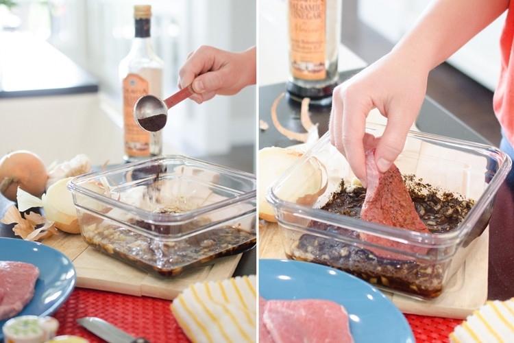 Используйте кофейную гущу для маринования мяса
