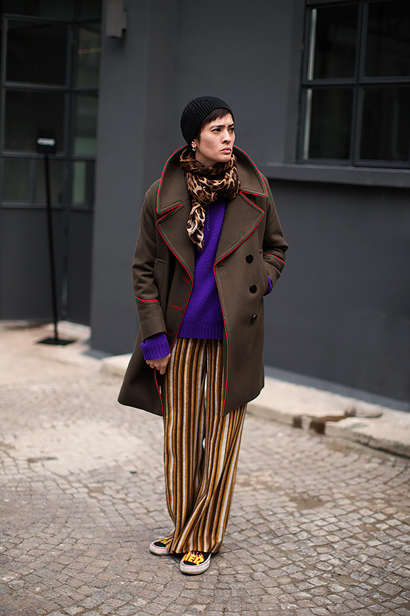 On the Street…Color Mix, Milan