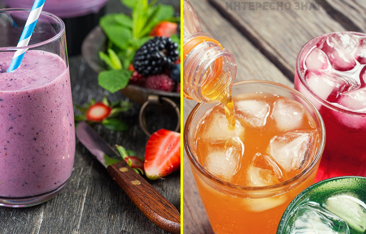 6 популярных напитков, которые заставят вас пить еще больше