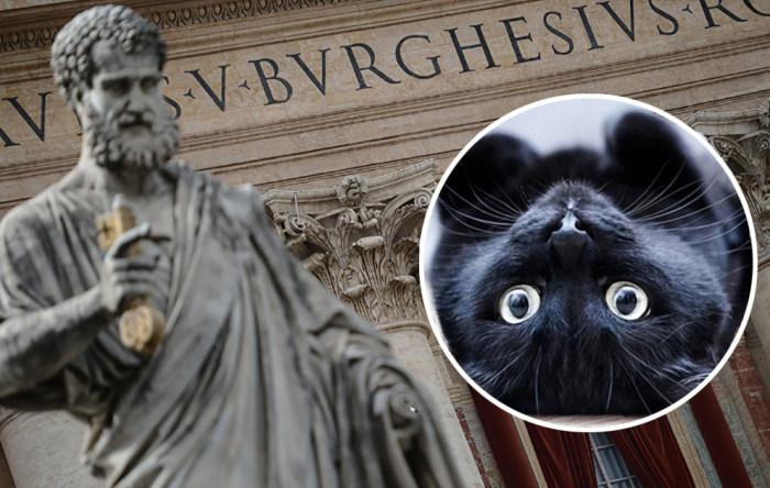Кошки и католическая церковь