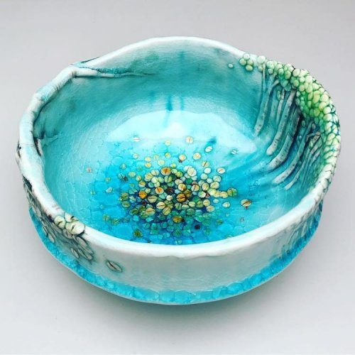 Чаши и вазы, вдохновлённые осиновыми лесами от Хису Ли