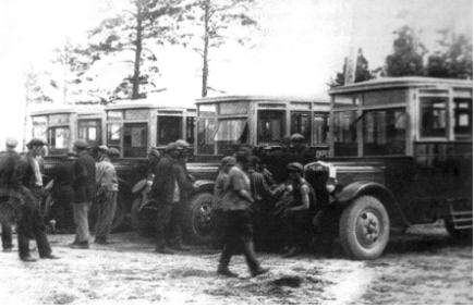 Автобусы – гордость СССР и России