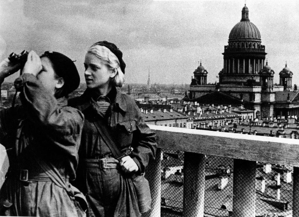 Блокада Ленинграда ч.2