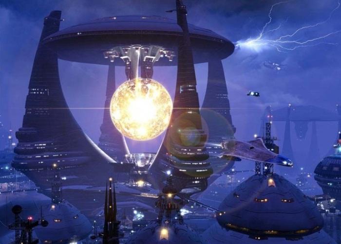 Космические пейзажи и миры будущего: 20 фантастических рисунков в стиле цифровой живописи