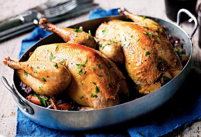 Самые вкусные блюда из птицы…