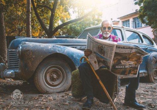 В свои 98 лет этот стильный …